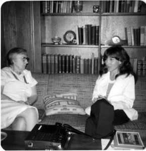 Jacquelyn Hall interviewing Katherine Lumpkin in 1974