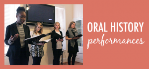 oral history performances slider